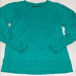 Halogen Blouson Sleeve Sweatshirt